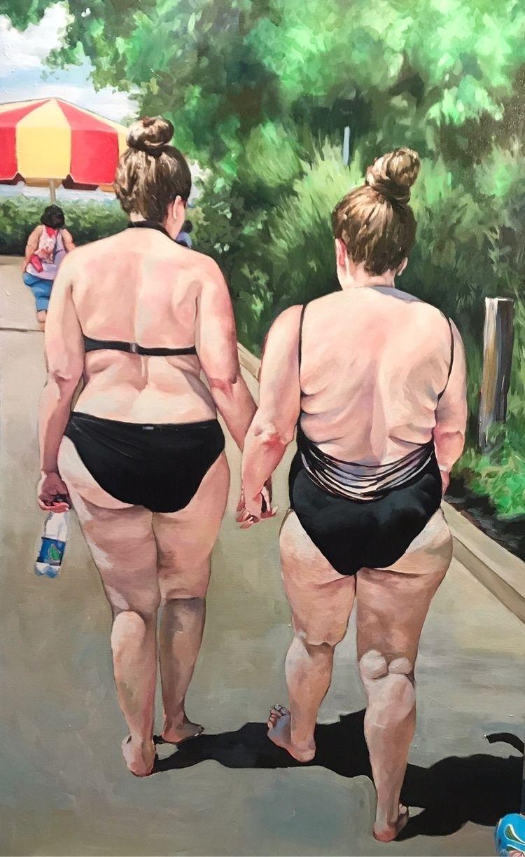 latest people Waterpark paintin - candiceflew | ello