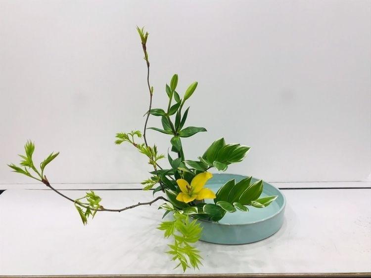 ikebana works - flower-ak   ello