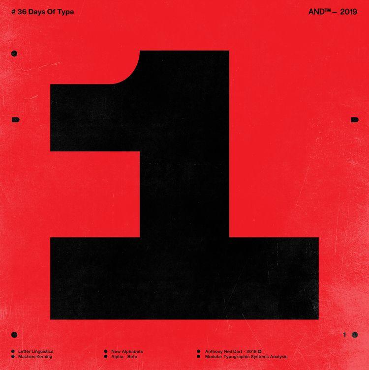 Typographic Verbosity  - 36DaysOfType - anthonyneildart | ello