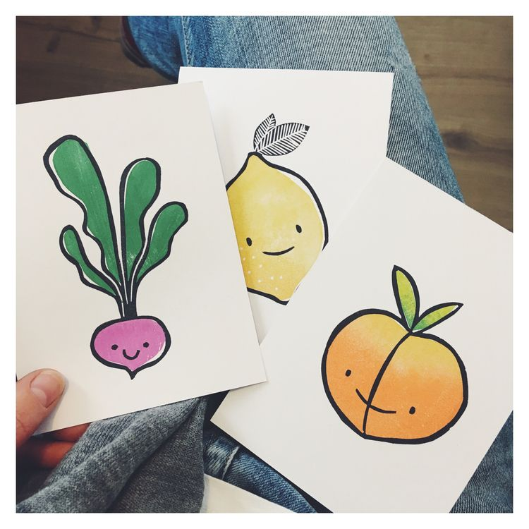 Printing cuties today - inthestudio - studiomalu | ello