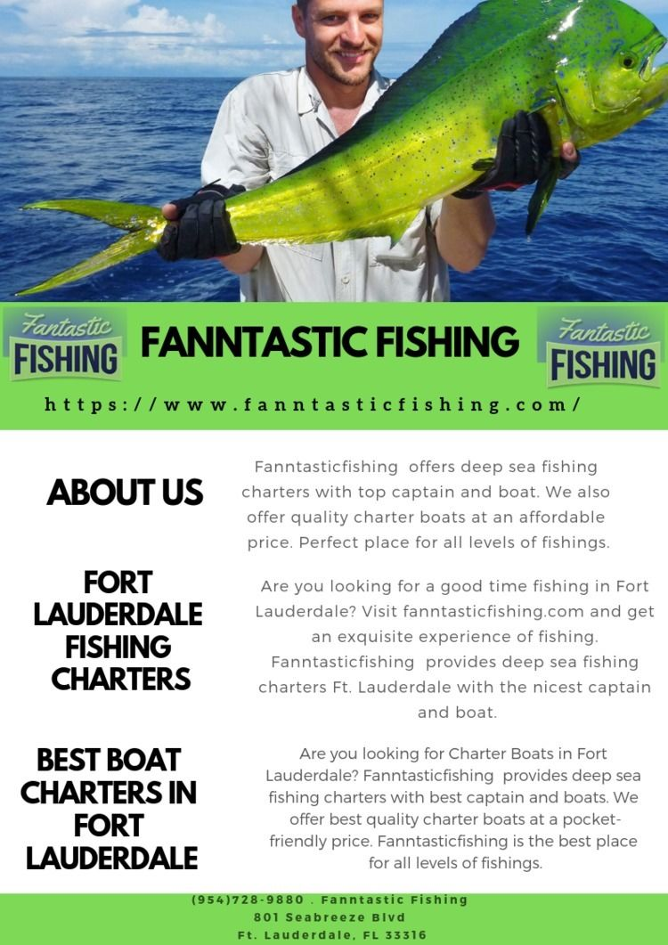 Fanntasticfishing offers deep s - fanntasticfishing | ello
