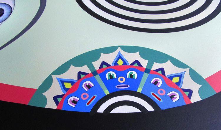 detail Rave paintings  - patrou | ello