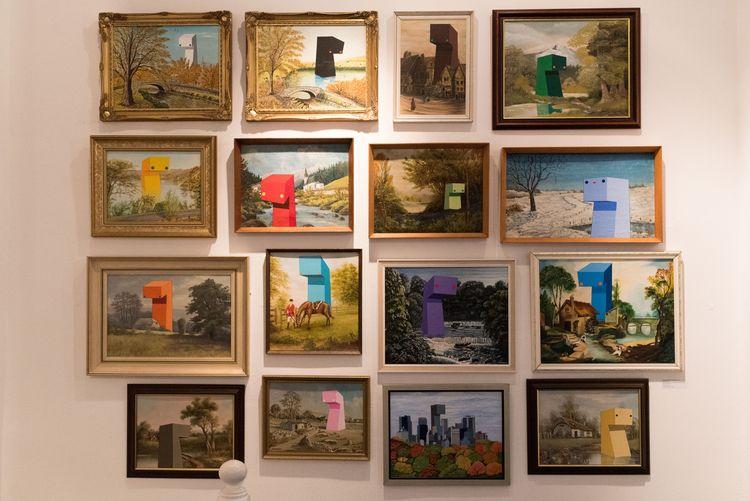 RAINBOW ENTITY PROJECT Painting - herrpfaff | ello