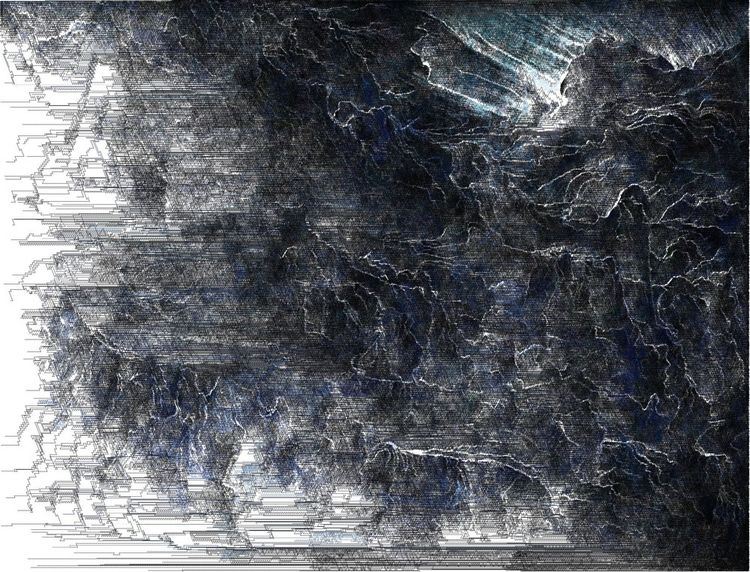 Tempest - digitalruins, glitch-art - digitalruins | ello