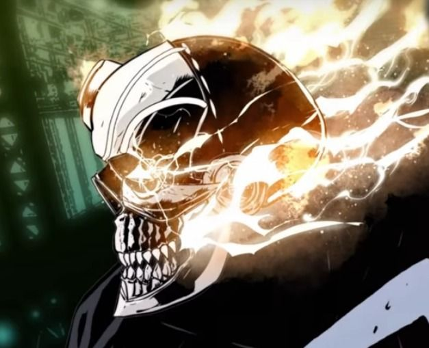 Ghost Rider video comic live. C - conorok | ello