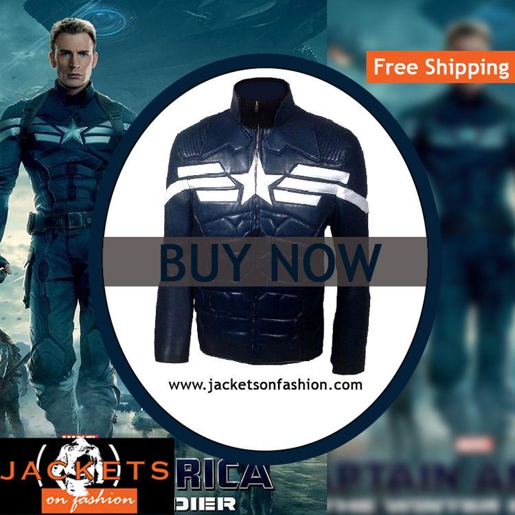 Captain America Jacket avengers - deanmboyd | ello