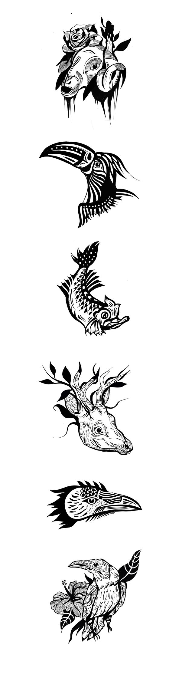set tattoo design skin - tattoodesign - boria | ello