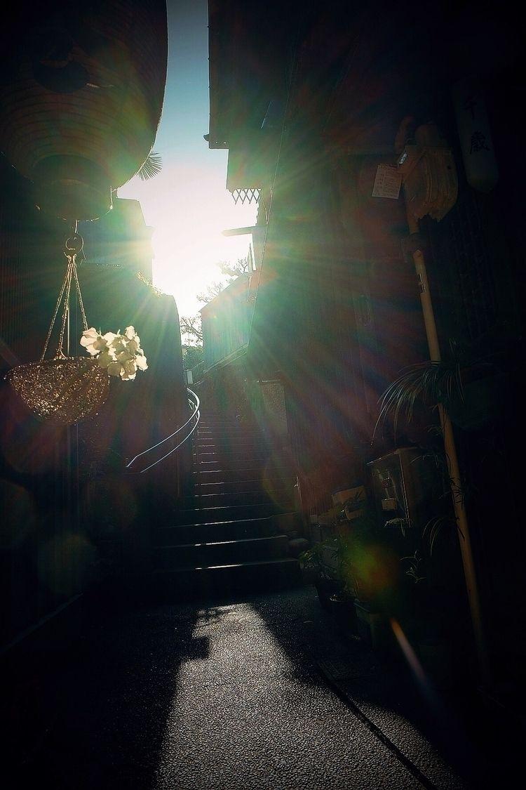street narrow afternoon - lazy - mamimumemami   ello