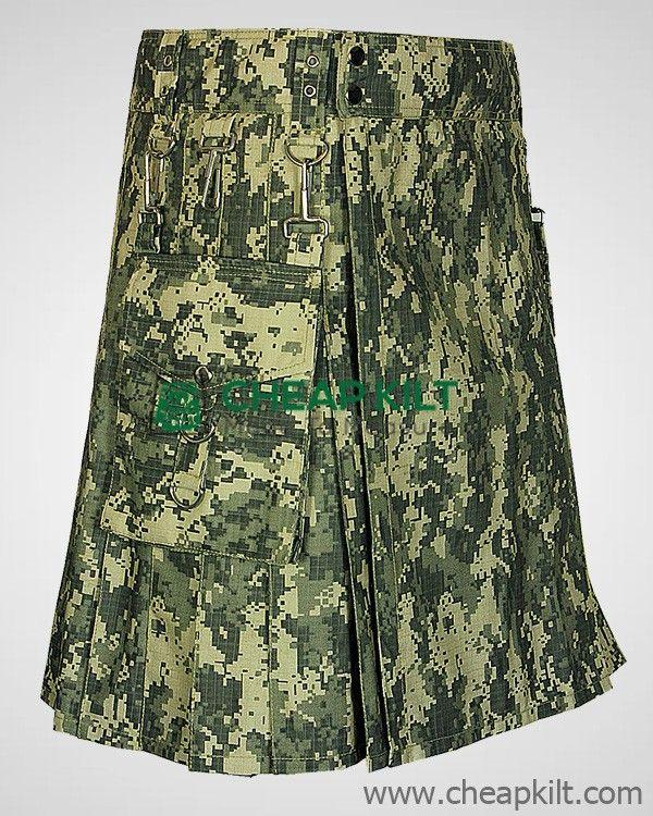 Army Digital Camo Kilt pockets  - betheliza   ello