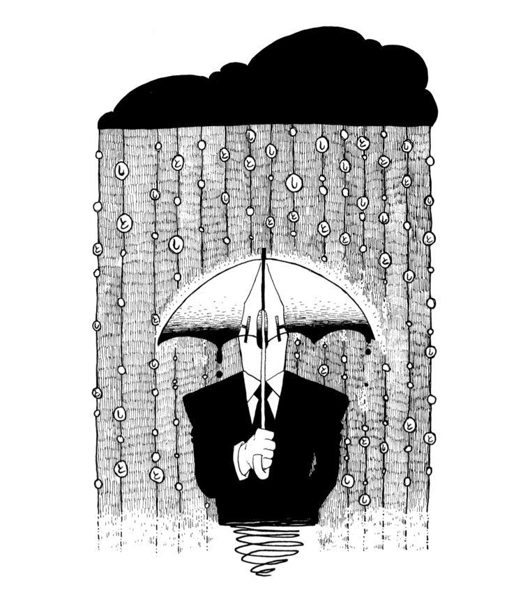 illustration, penandink, blackandwhite - houjou_ujiwaki | ello