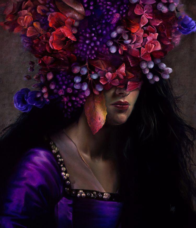 colour flowers - corlap | ello