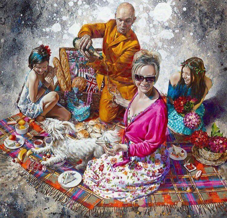 Amazing paintings Chelsea based - nettculture   ello