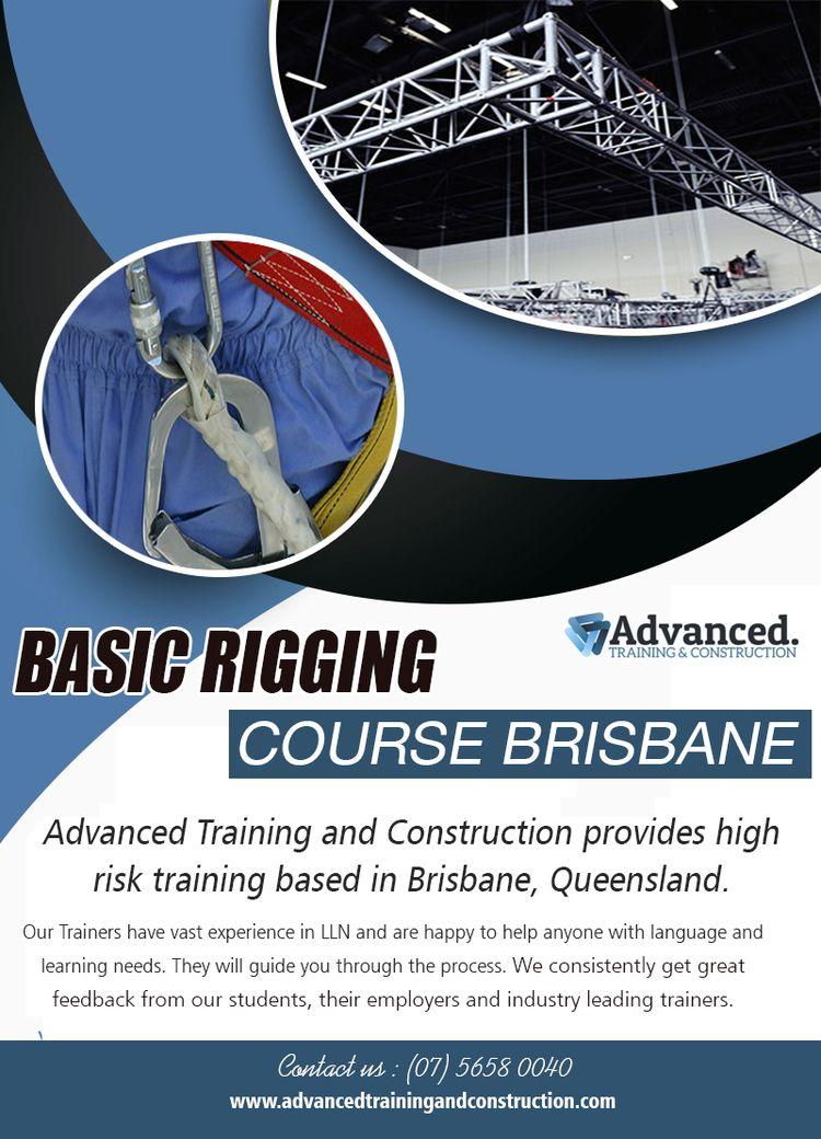 Basic Rigging Brisbane   Call  - scaffoldingcourses   ello