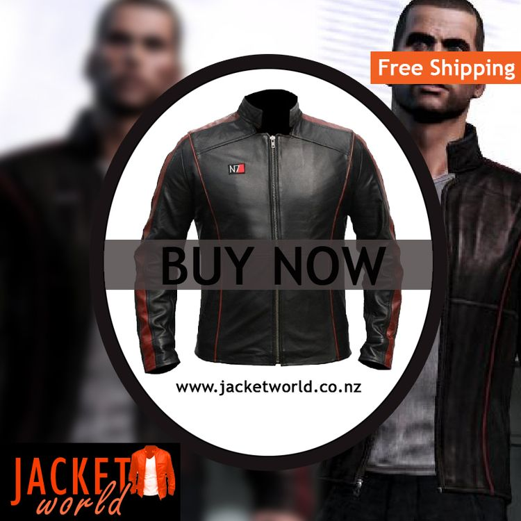 N7 LEATHER JACKET MASS EFFECT J - henrydhill | ello