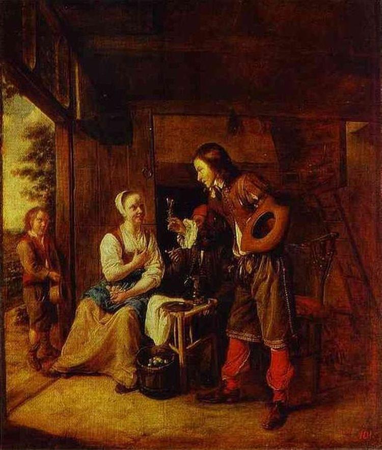 Pieter de Hooch 1629 1684 Nethe - andrezomerwandeling | ello