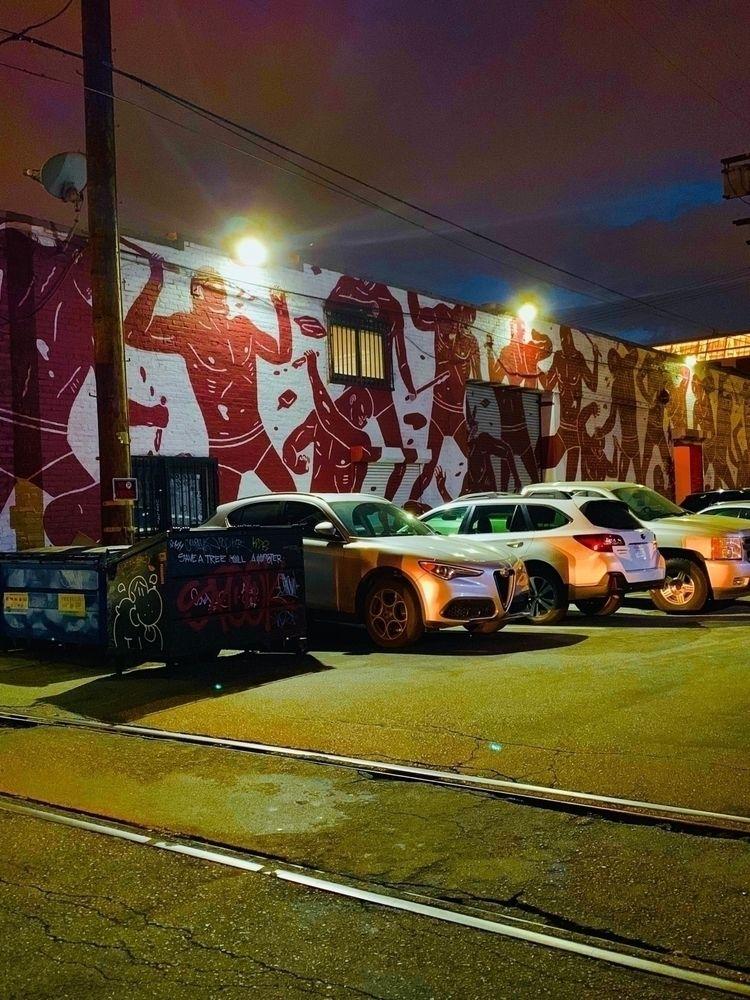 night bestia - color, street, losangeles - heewhoo | ello