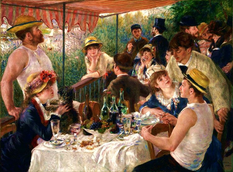 Luncheon Boating Party, Pierre - zorrojacques | ello