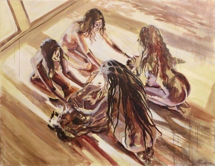 Healing, 200x150cm, oil linen,  - rutavm | ello