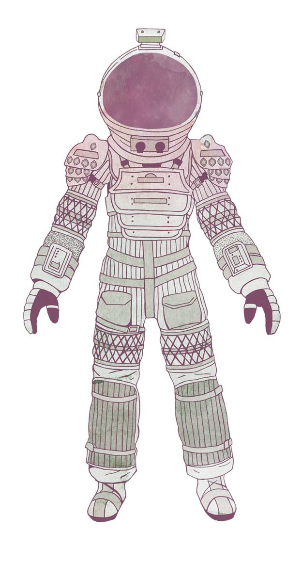 Nostromo Spacesuit - Alien, Aliens - avoidperil | ello