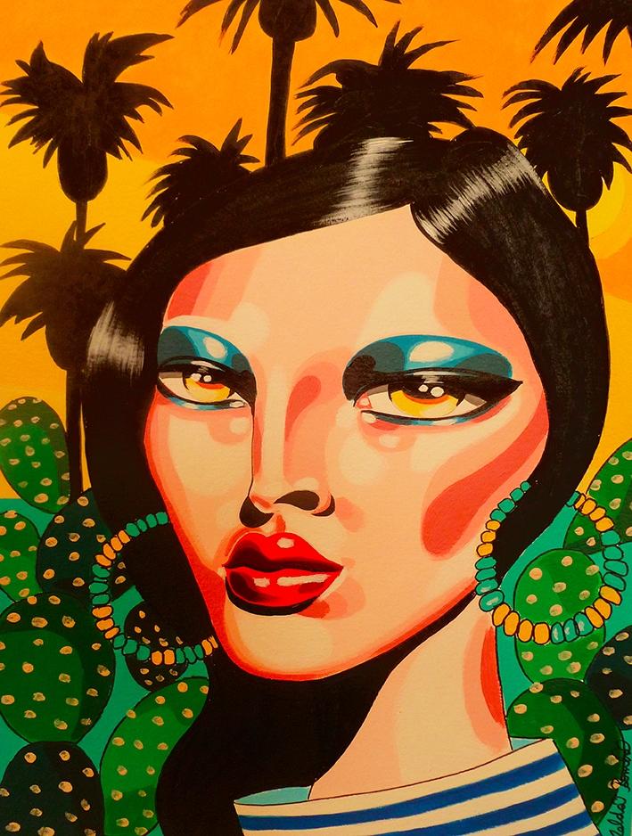 Tropical Mood Acrylic Paper 30x - zeldabomba | ello