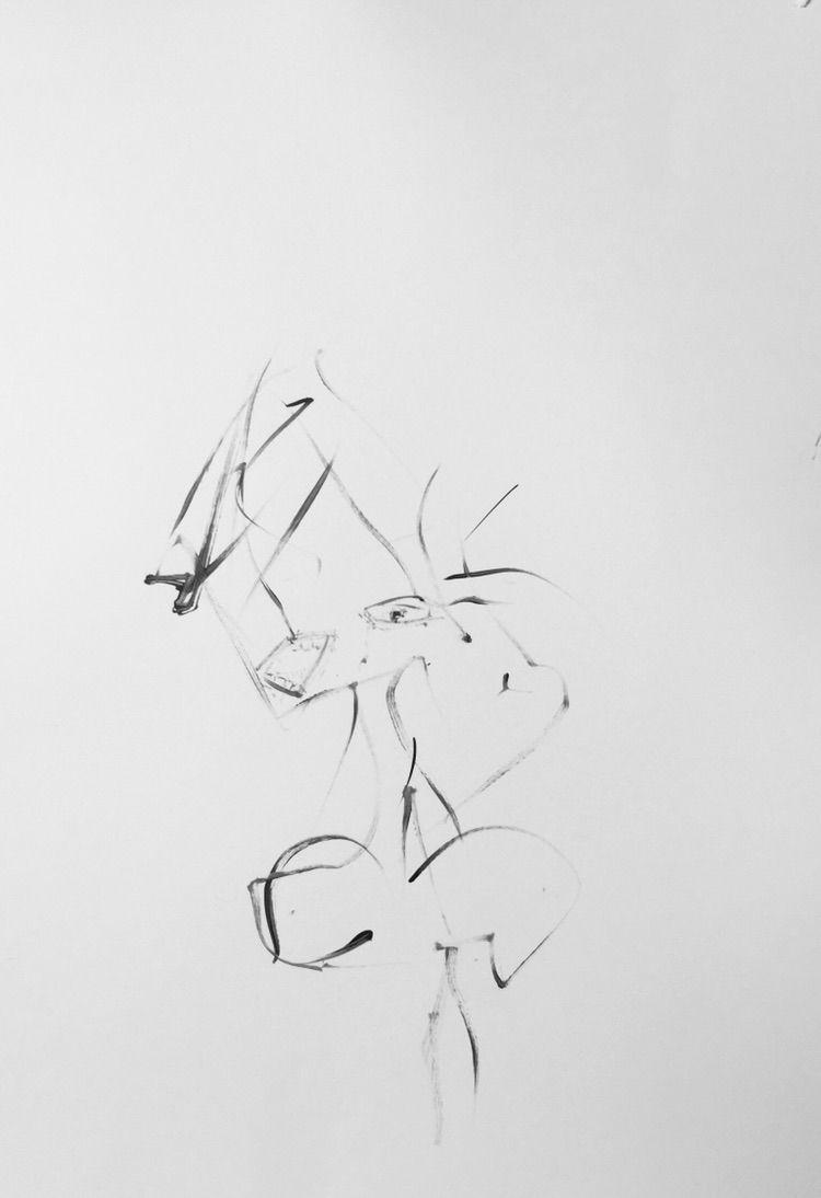sketch, acrylic - josey | ello