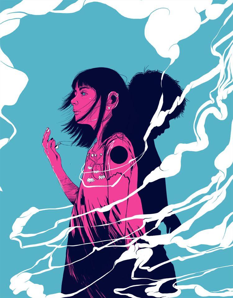 sadness anxiety future - alterlier | ello