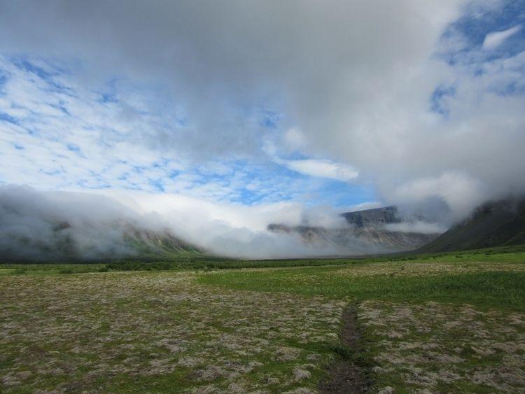 cloud cascade - swirlyfox   ello