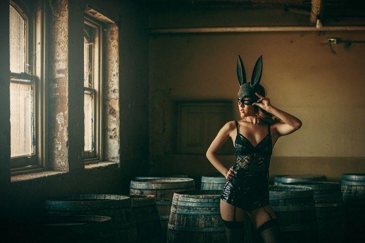 """Dark Bunny"" – Photographer: Ma - darkbeautymag   ello"