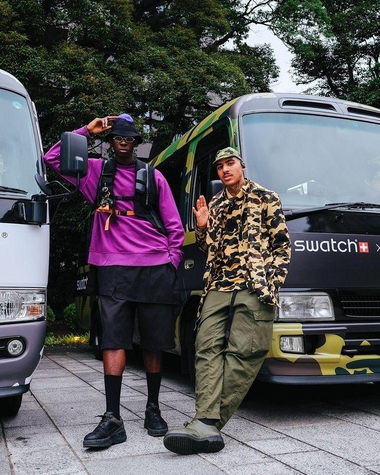SWATCH BAPE LAUNCH TOKYO Swatch - enfntsterribles | ello