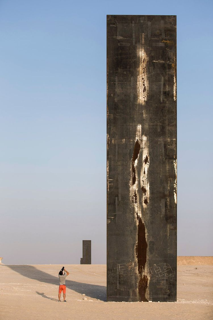 - richard serra - bluevertical | ello