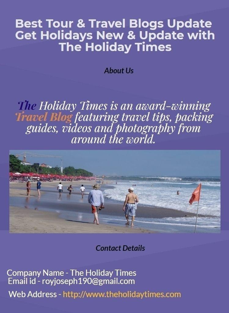 Holiday Times award-winning Tra - theholidaytimes | ello
