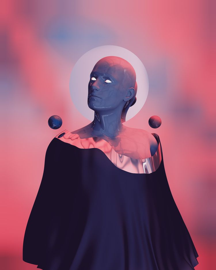 Transcended Follow Instagram - art - wikpass | ello