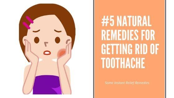 5 Natural Remedies Rid Toothach - urgentdentalus | ello