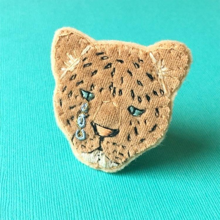 endangeredspecies, embroideredbroach - crossthepop | ello