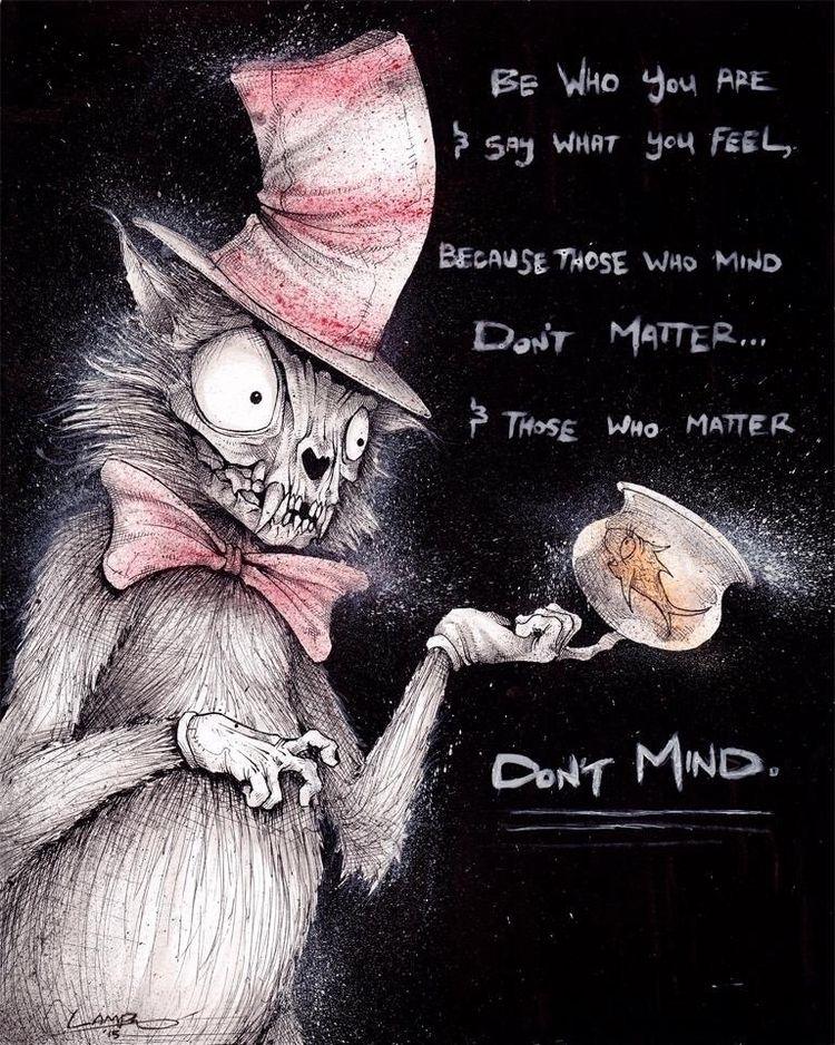 "feel matter mind matter"" - Dr.  - tlamph   ello"