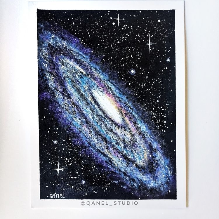 Galaxy Art QanelStudio - qanel | ello