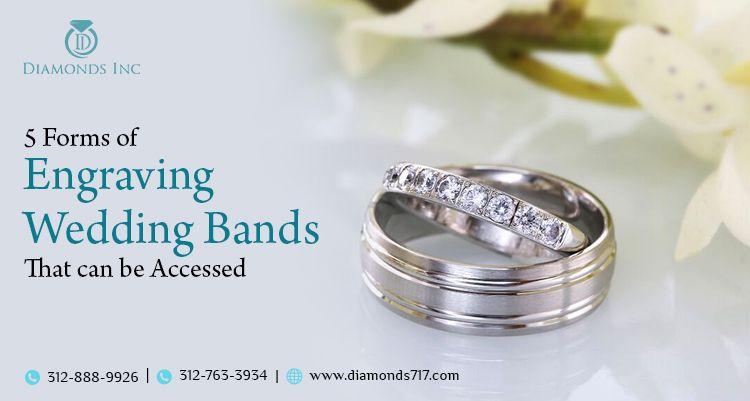 5 Forms Engraving Wedding Bands - diamondsinc | ello