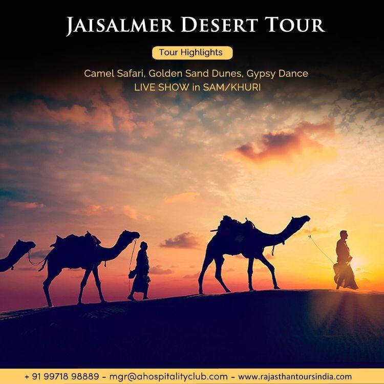 planning enjoy Desert safari Je - rajasthantoursindia | ello