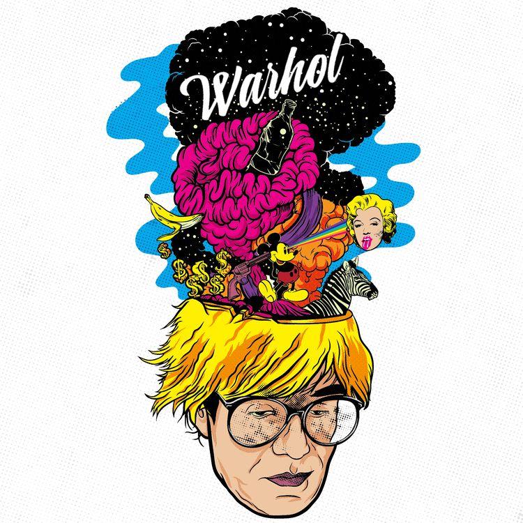 History Art: Andy Warhol Americ - thecommas | ello
