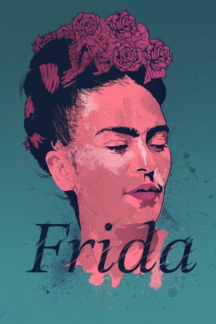 Alternative Movie Poster: Frida - thecommas | ello