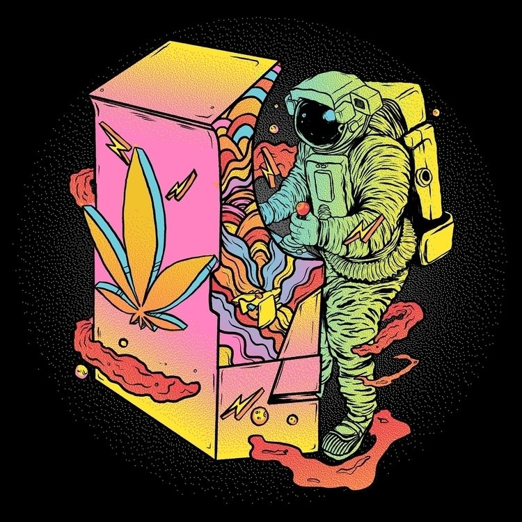 Creative Campaign: Cannabis Ind - thecommas | ello