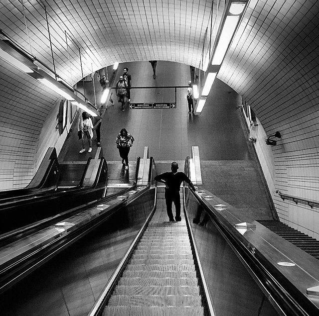 underground - iPhoneSE, France, BlackAndWhite - kalochi | ello