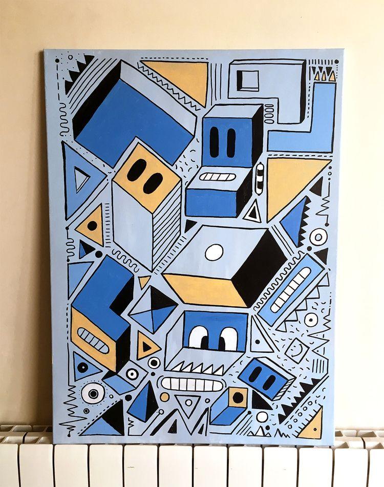 Acrylic Canvas - osmangranda | ello