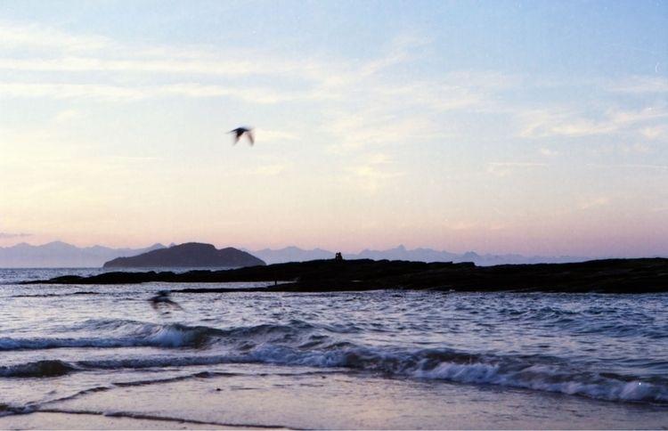 lone figure rock enjoying rays  - kaikousa | ello