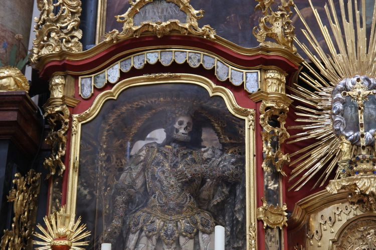 Skeletons Waldsassen Basilica - geeksusie | ello