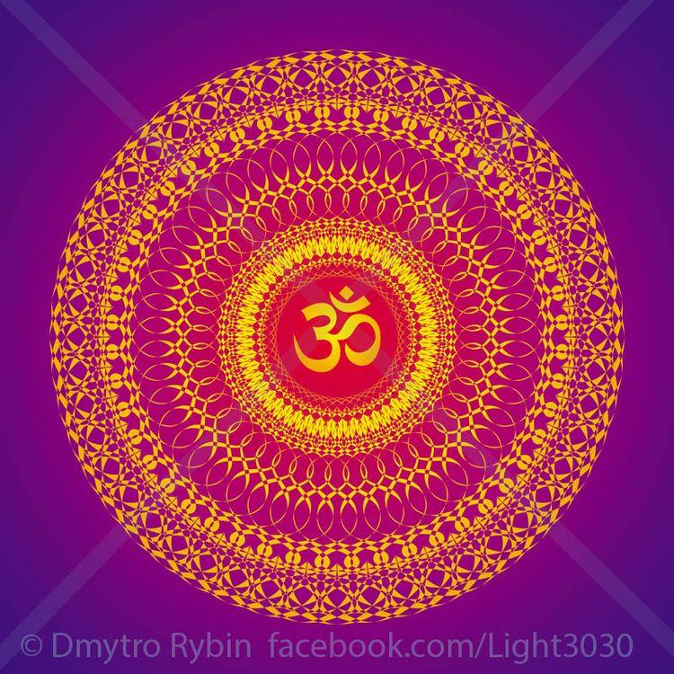 Mandala aum / om sign - mandala - dmytroua | ello
