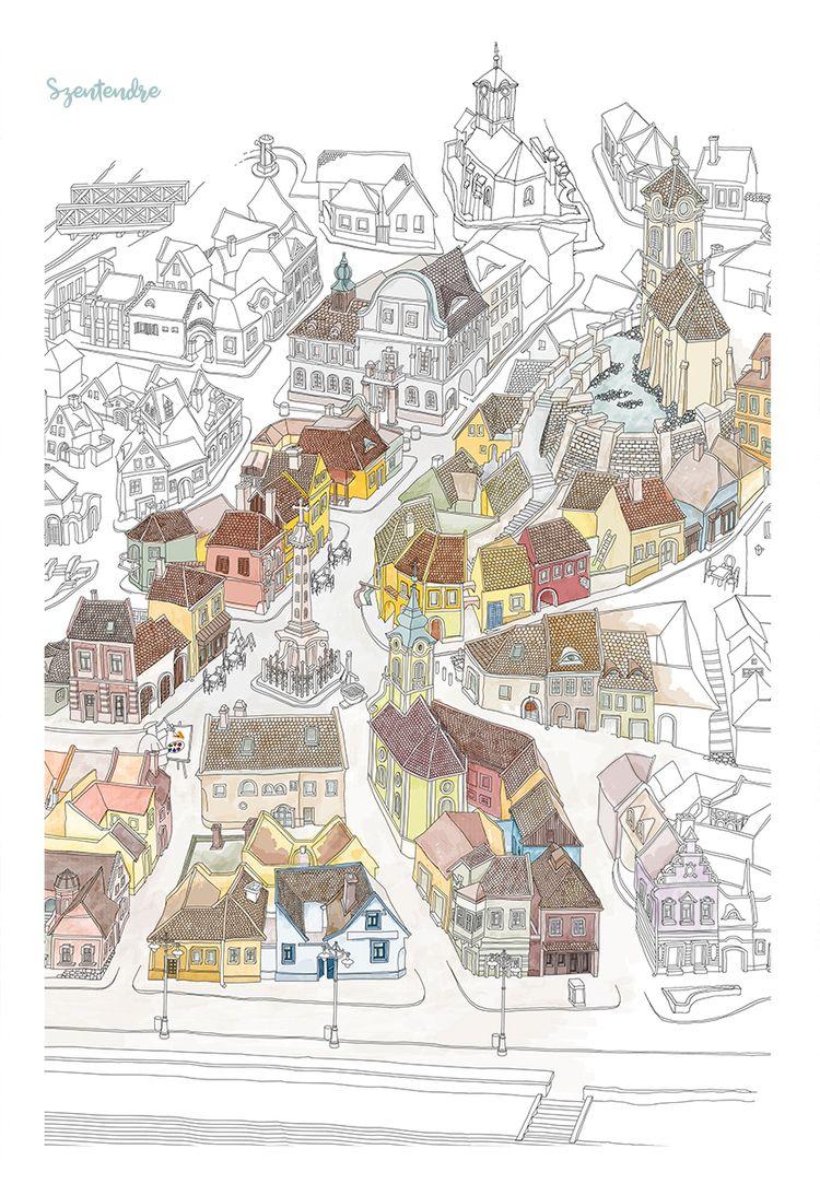 Szentendre - Town Artists (Hung - citygraph | ello