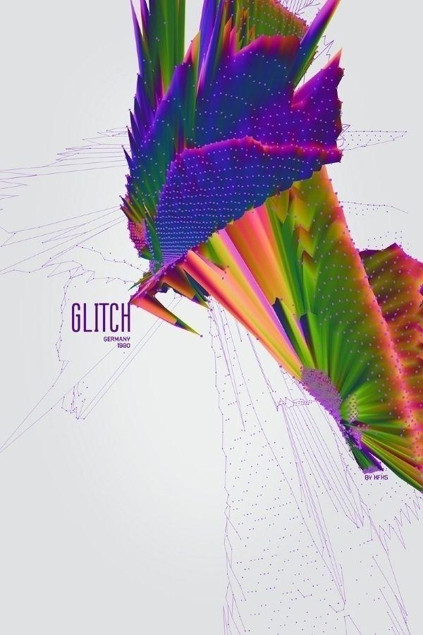 — Music posters series Glitch 1 - kaerfkrahs | ello