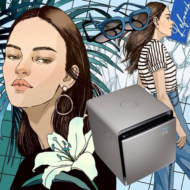 Fashion collaboration 'Samsung  - eunjeongyoo | ello