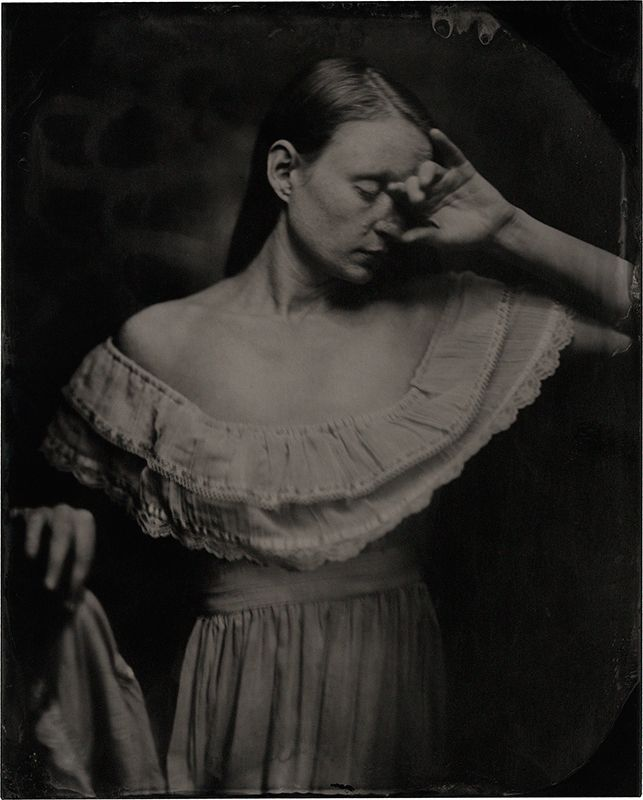 Model: 04/19 8x10 plexitype - wetplate - jameswigger | ello